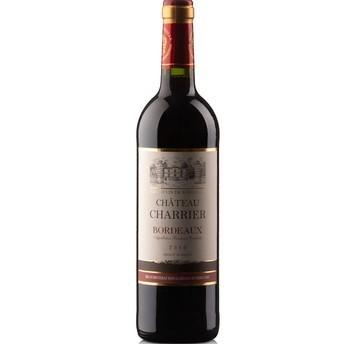 法国原瓶进口 波尔多AOC级 夏利耶庄园干红葡萄酒+曼特宁咖啡